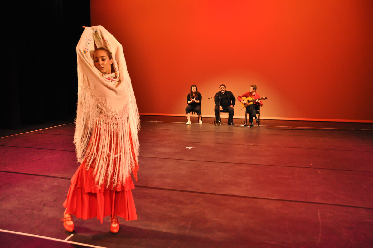 flamenco scarf
