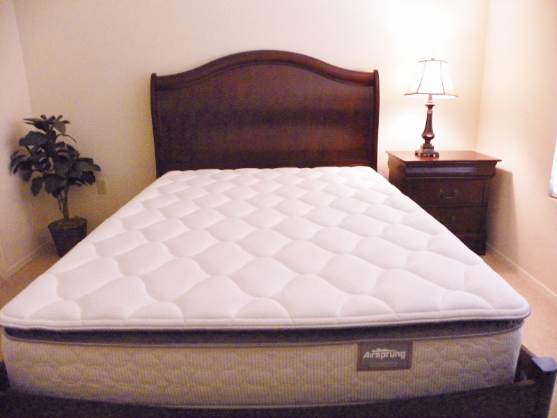 Airsprung pillow top mattress queen set wholesale