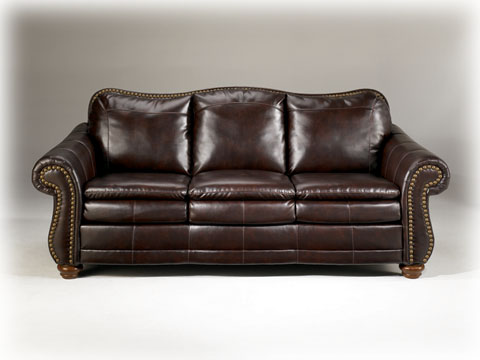 rustic leather sofa turn-key furniture package