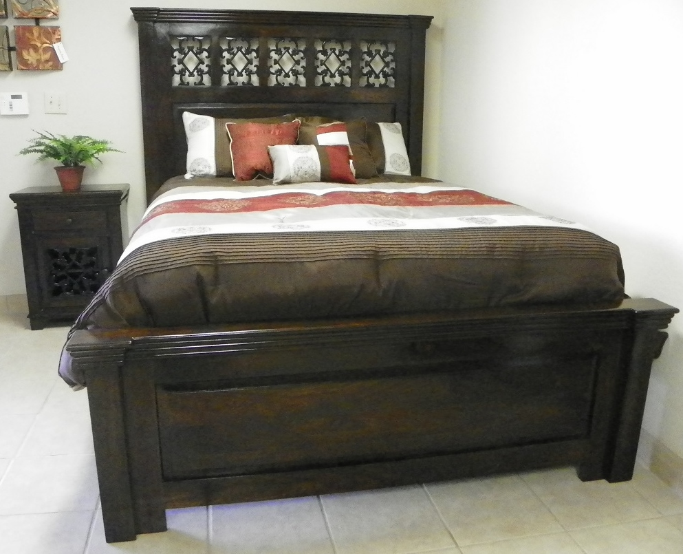 tuscan bedroom set solid wood bed custom home furniture