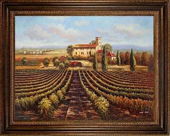 Tuscan Oil Painting phoenix art sale