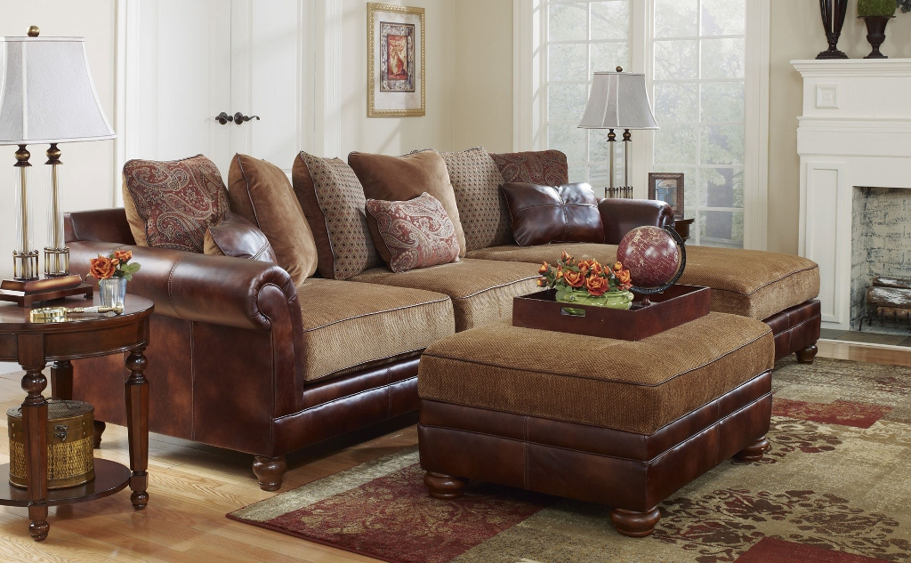 sectional sofa tuscan old world style
