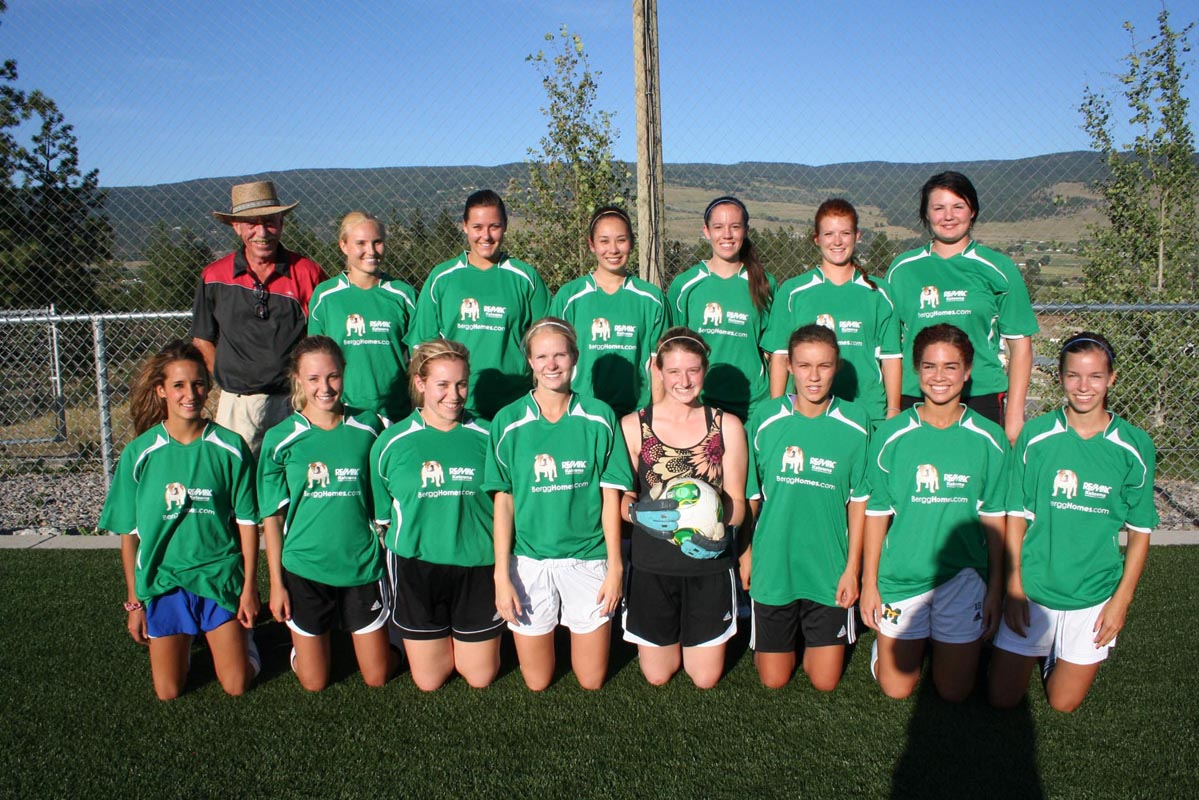 The Sting - A Kelowna 1st Division Women's Soccer Team