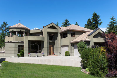 Front view of a house for sale in Glenmore, Kelowna