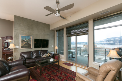 Kelowna Arts District - Downtown Apartment for sale: The Lofts  2 bedroom 1,388 sq.ft. (Listed 2017-02-03)