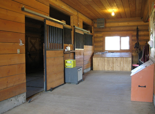 Barn Ground Floor Stalls and Medical