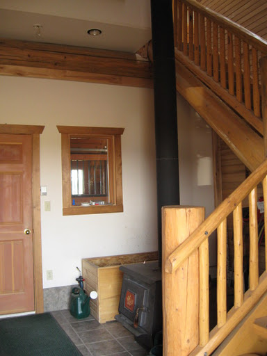Barn Office Entry