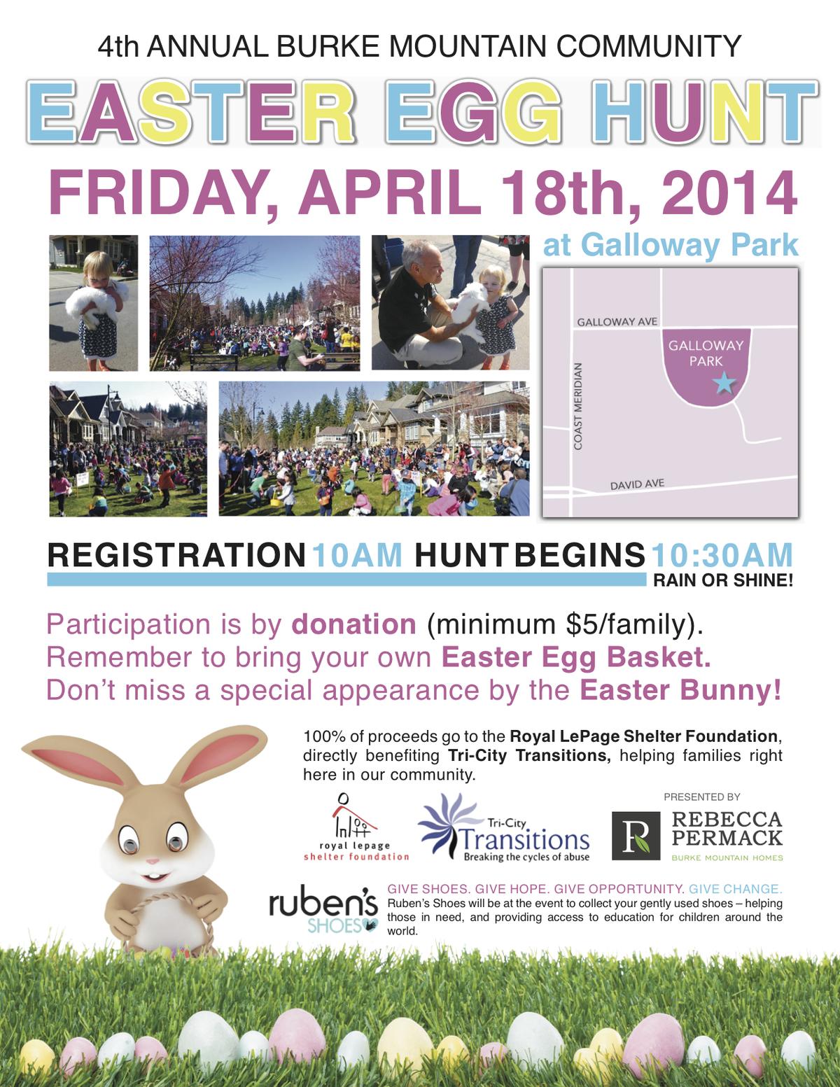 2014 Easter Egg Hunt Flyer
