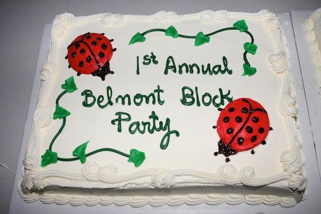 2010 Block Party - cake