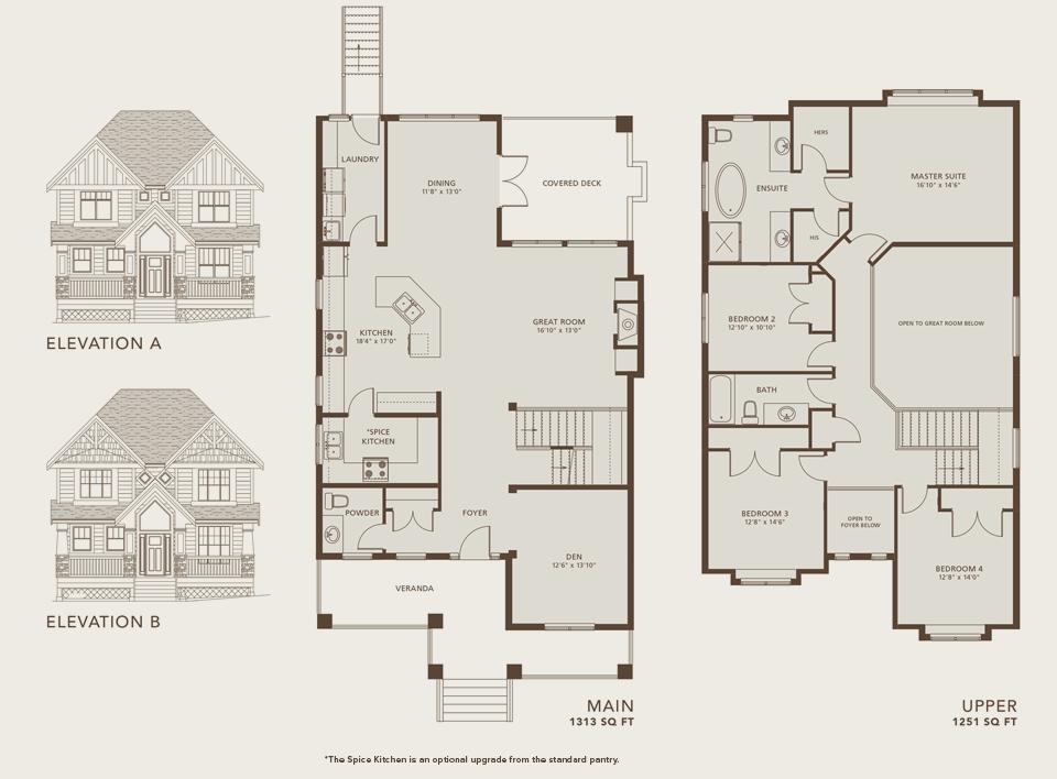 Sitka Floorplan