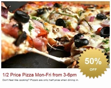 Pastameli Half Price Pizza