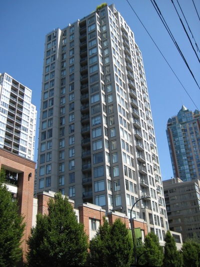 My top 10 Yaletown Buildings- #8-THE BENTLEY 1001 Homer Street, Vancouver