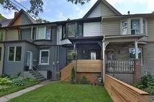 Leslieville 2 STRY ATTACHED ROW-HOUSE for sale:  3 bedroom  (Listed 2017-06-23)