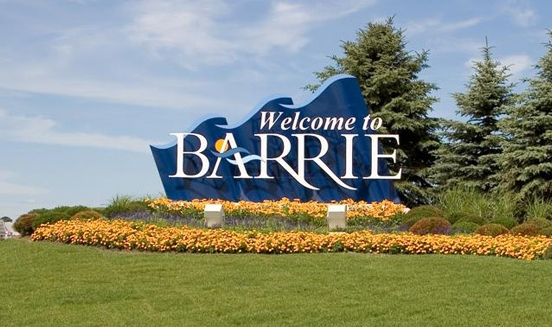 Barrie Sign