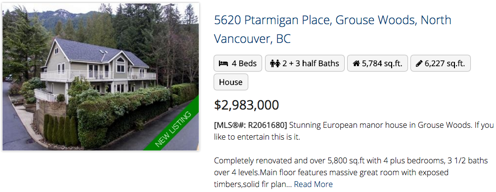 5620 Ptarmigan Place, North Vancouver