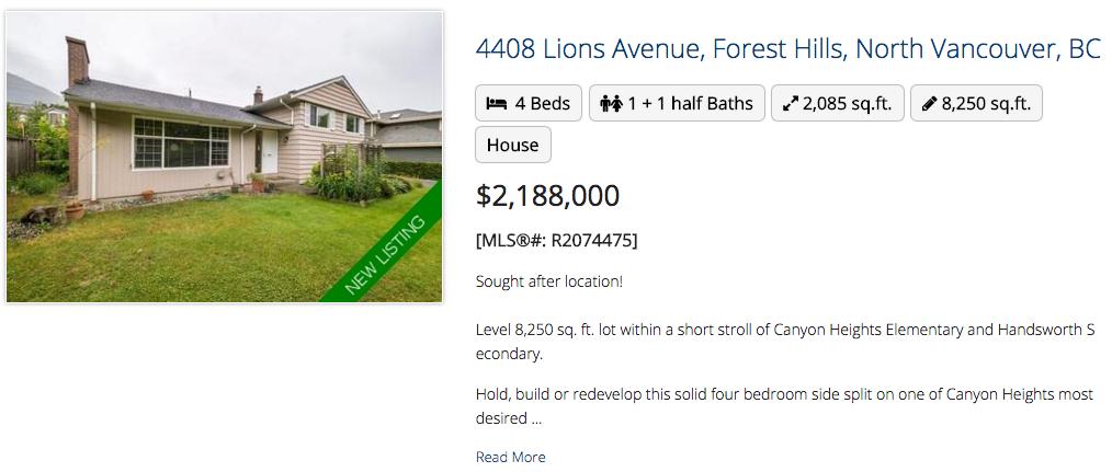 4408 Lions Avenue, North Vancouver