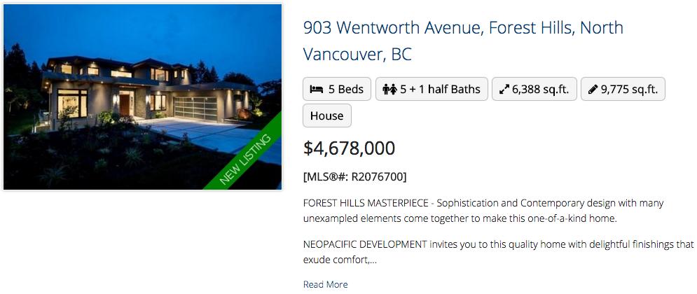 903 Wentworth Avenue, North Vancouver