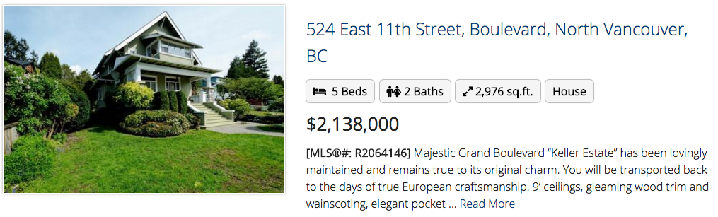 524 East 11th Street, North Vancouver