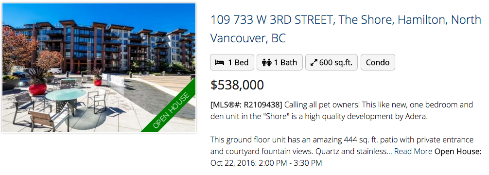 109 733 W 3RD STREET, NORTH VANCOUVER