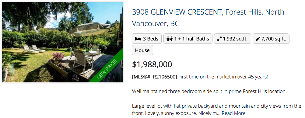 3908 Glenview Crescent, North Vancouver