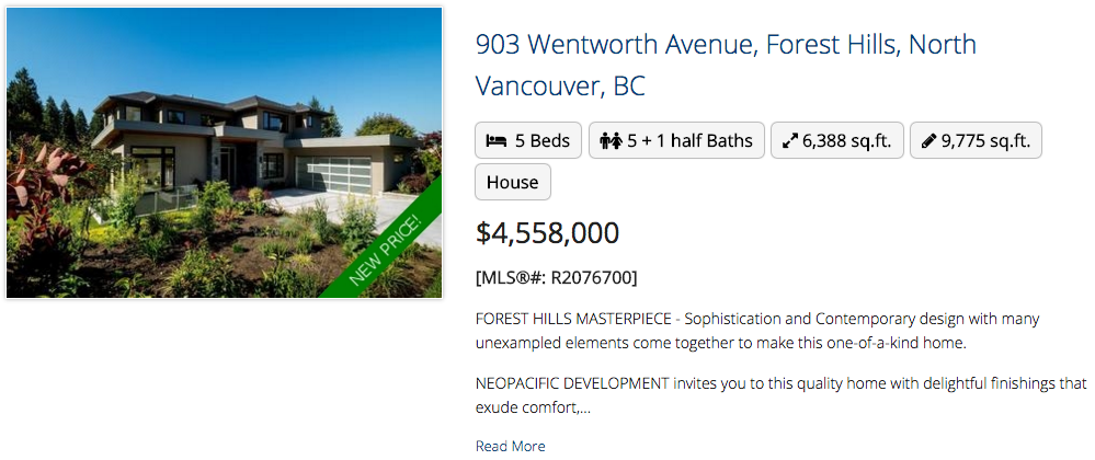 903 Wentworth Avenue, North Vancouver