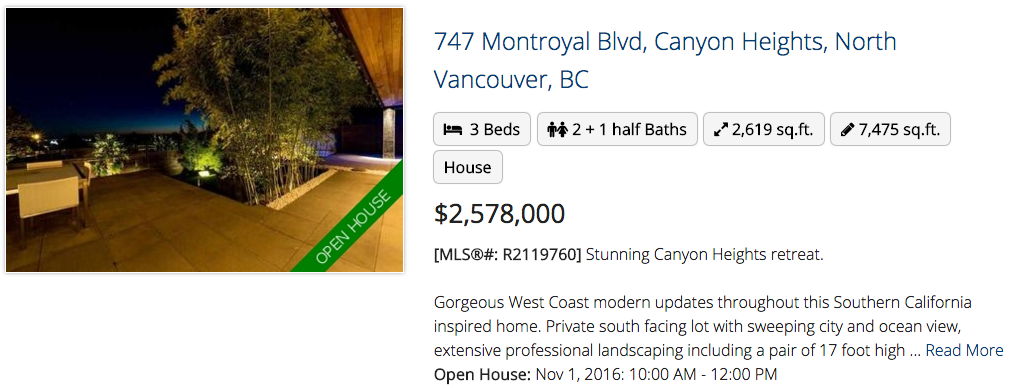 747 Montroyal Blvd, North Vancouver