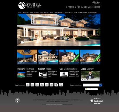 Stu Bell New Website