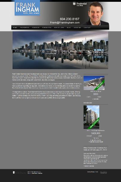 Frank Ingham website
