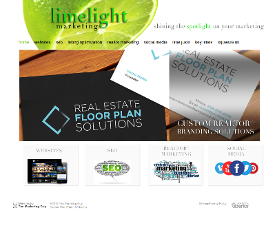 Limelight Marketing Website