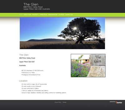 The Glen Website