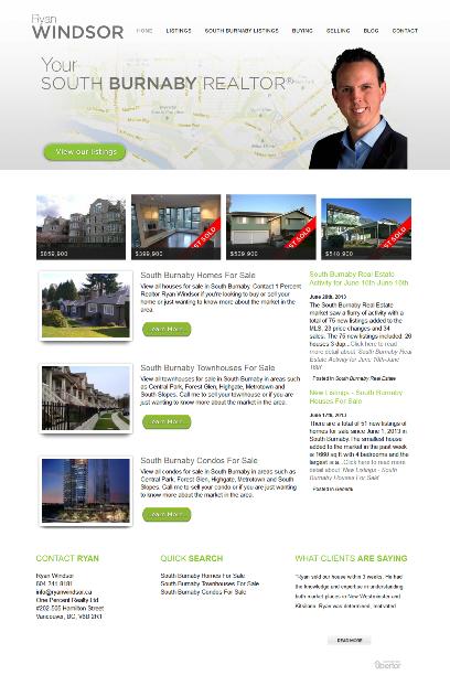 Ryan Windsor New Website