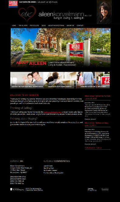 Moorestown Homes For Sale Website