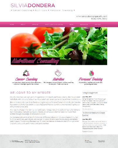 Silvia Dondera New Website