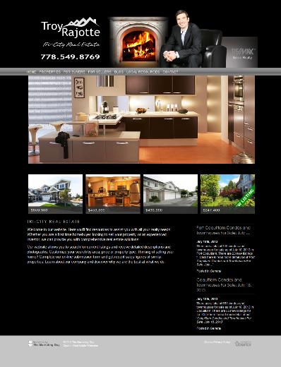 Troy Rajotte Website