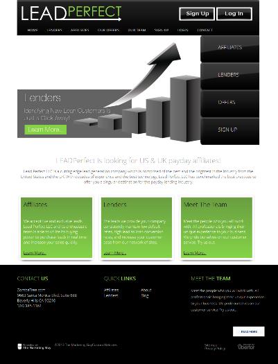 LeadPerfect Website