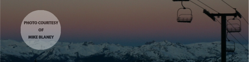 Blackcomb Sunrise, Whistler, BC