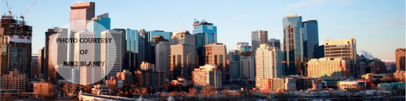 North facing Edmonton Skyline, Edmonton, AB