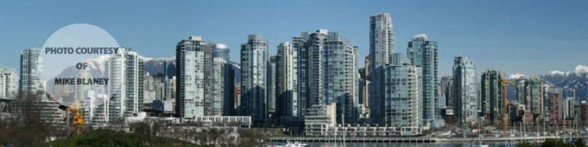 Vancouver Skyline from False Creek