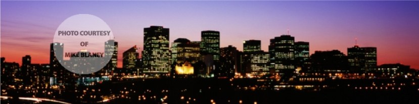 Edmonton Skyline night time