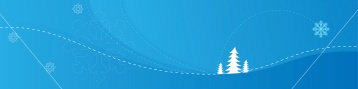 blue winter-christmas-banners