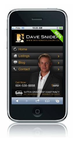 Mobile Websites 4