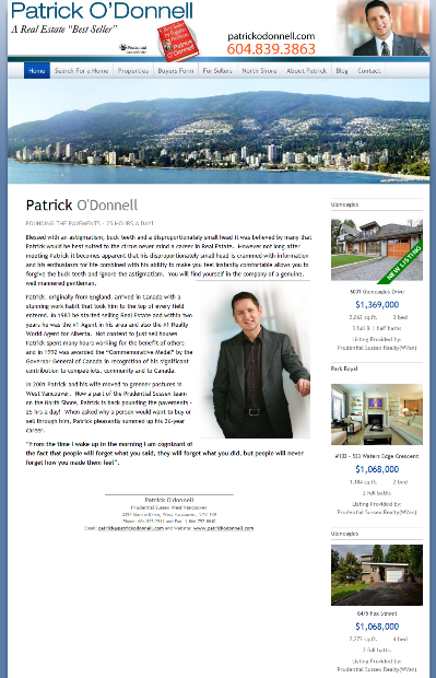 Patrick ODonnel Website 399