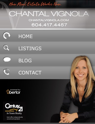 Chantal Vignola Mobile Website.JPG