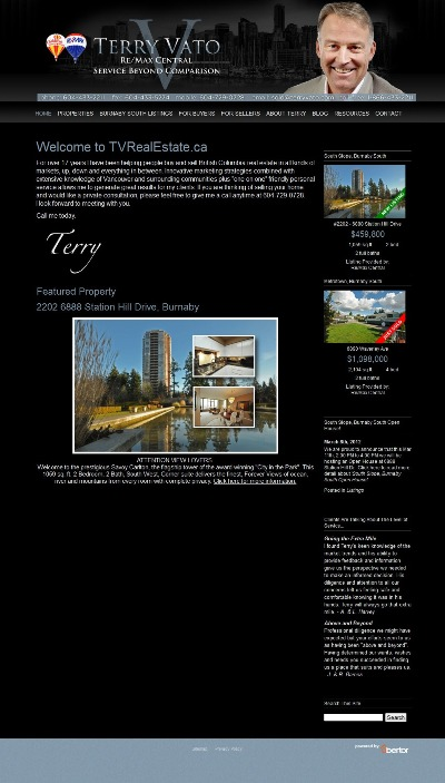 Terry Vato website