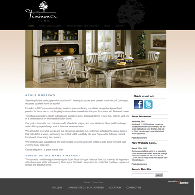 Timbavati Home Website