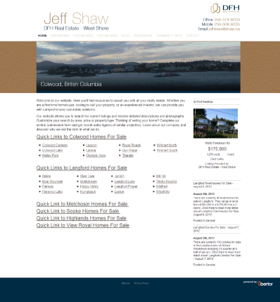 Jeff Shaw Colwood Langford Realtor