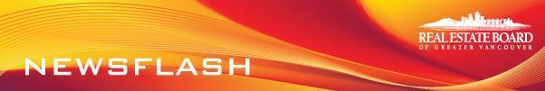 Real Estate Board Newsflash Header