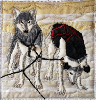 Quilt - Sled Dogs
