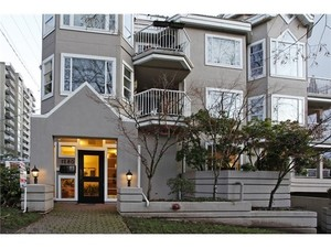 West End VW Condo for sale: Linden House 1 bedroom 530 sq.ft. (Listed 2013-04-20)