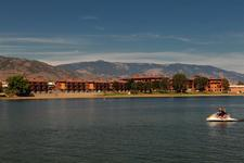 Osoyoos LAKEFRONT TOWNHOUSE for sale: WATERMARK Beach Resort 2 bedroom 1,230 sq.ft.